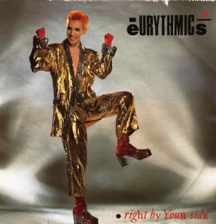 "Eurythmics ‎- Right By Your Side (7"") (VG/VG-)"